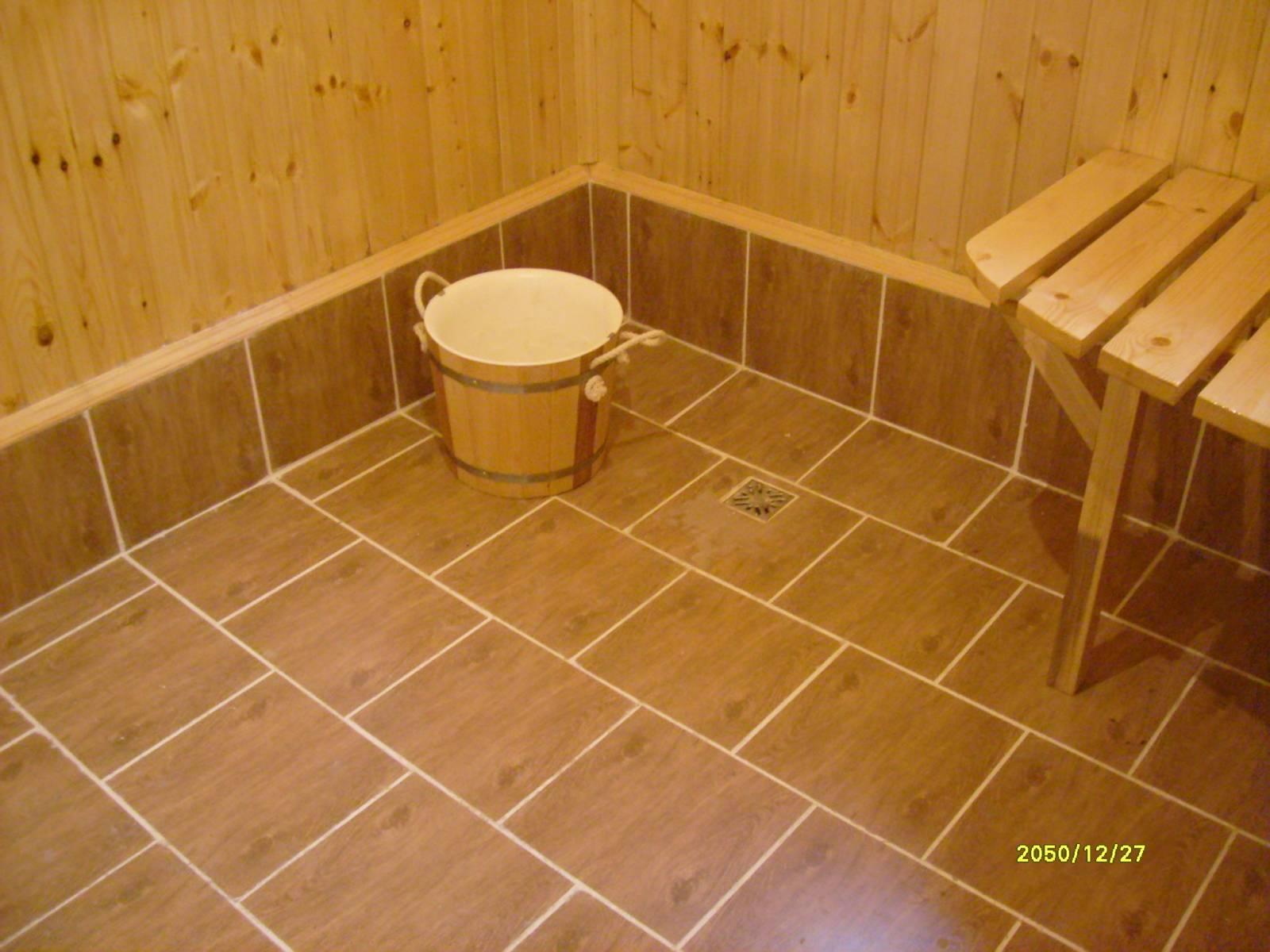 Как должна быть устроена моечная в бане 83